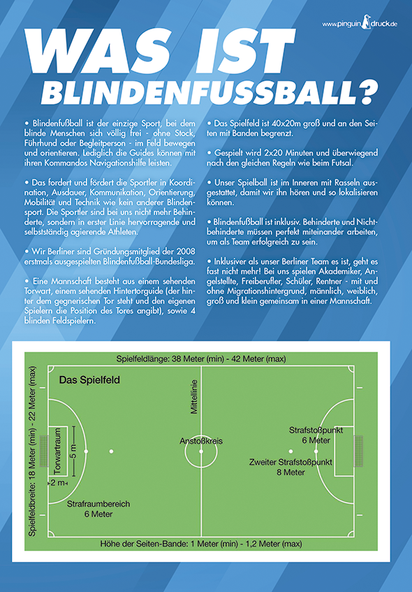 Blindenfussball