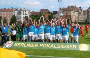 Viktoria Berlin Dritte Herren Pokalsieger