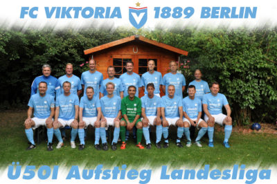 Viktoria Berlin Ü50I Aufstieg Landesliga