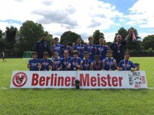 Viktoria Berlin U17 Aufstieg in die Regionalliga