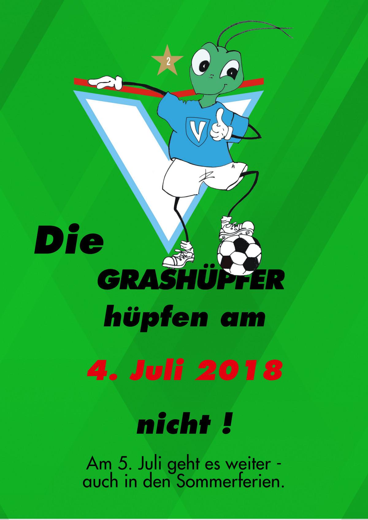 Viktoria Berlin - Die Grashüpfer hüpfen nicht