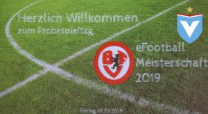 18.01.2019 Berliner eFootball Meisterschaft Testspieltag - Willkommen