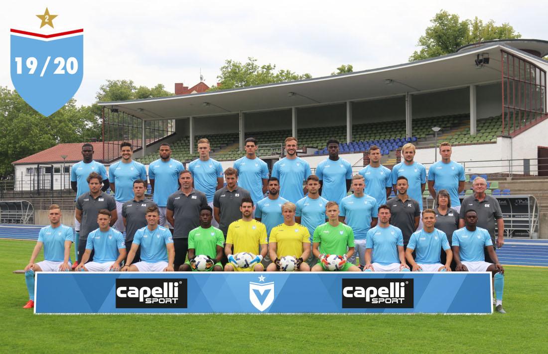 Mannschaftsbild Viktoria Berlin Erste Männer Saison 2019/20